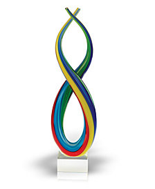 Badash Crystal Spectrum Art Glass Sculpture