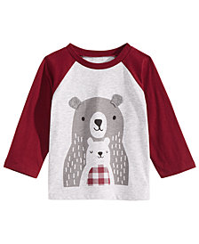 First Impressions Toddler Boys Bears-Print T-Shirt, Created for Macy's