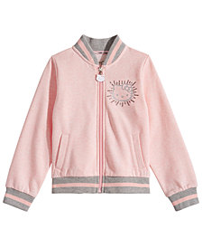Hello Kitty Little Girls Fleece Bomber Jacket