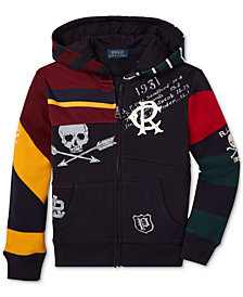 Polo Ralph Lauren Toddler Boys Graphic Hoodie