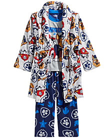 PAW Patrol 3-Pc. Robe, Top & Pants Pajama Set