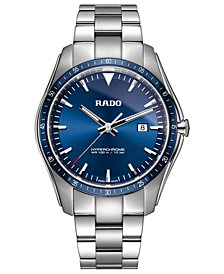 Rado Men's Swiss HyperChrome Stainless Steel Bracelet Watch 44.9mm