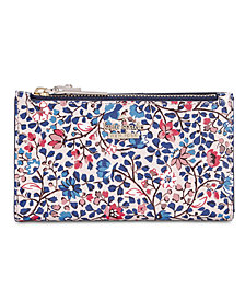 kate spade new york Cameron Street Ditsy Vine Mikey Wallet