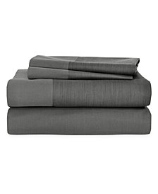 Michael Aram Striated Band Queen Fitted Sheet