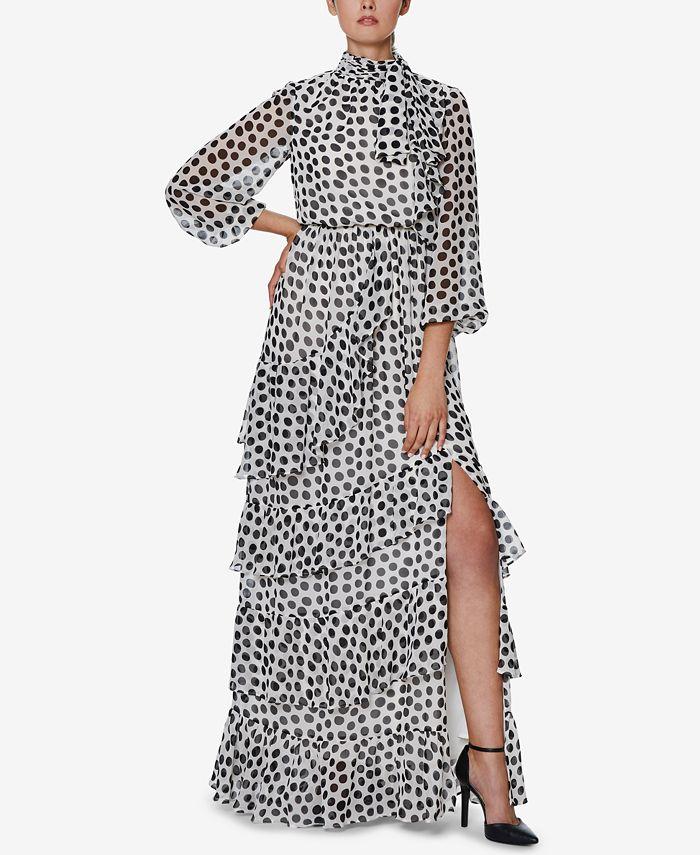 INSPR - olka Dot Maxi Dress