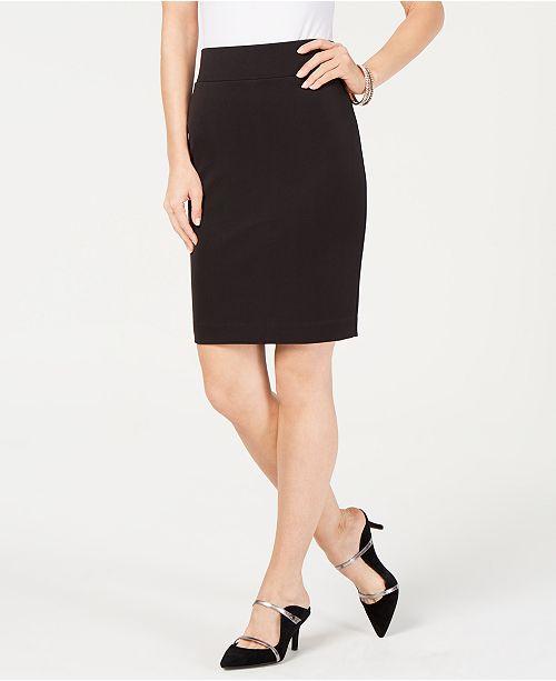 228286f372 Alfani Petite Scuba Midi Skirt, Created for Macy's & Reviews ...