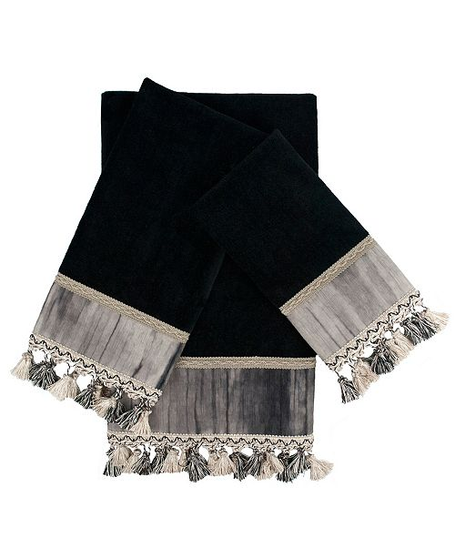 Sherry Kline Ambiance 3-piece Embellished Towel Set