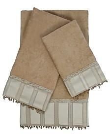 Sherry Kline Cromwell 3-piece Embellished Towel Set