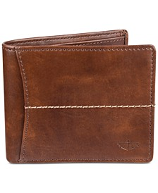 Men's Extra-Capacity RFID Wallet