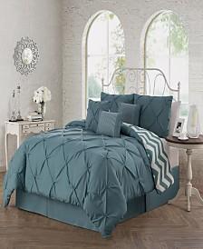 Ella 7 Pc King Comforter Set