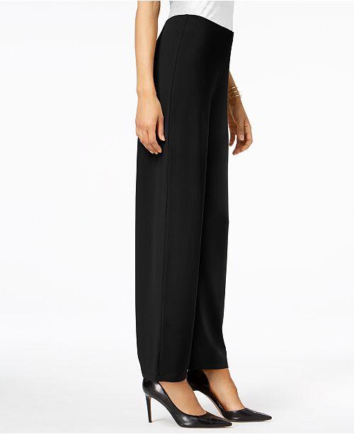 955a5085ffb Alfani Petite Knit Wide-Leg Pant