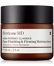 Receive a free FULL SIZE High Potency Face Finishing & Firming Moisturizer with $100 Perricone MD purchase! (a $69 value!)