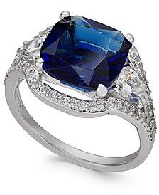 Danori Silver-Tone Cushion Ring, Created for Macy's