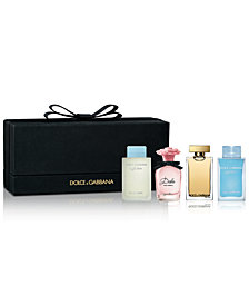 DOLCE&GABBANA 4-Pc. Mini Fragrance Gift Set, Created for Macy's