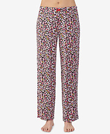 Ellen Tracy Printed Pajama Pants
