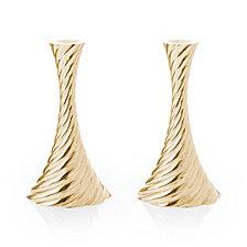 Michael Aram Twist Gold Candleholders, Set of 2