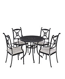 "Home Styles Athens 5PC Dining Set (42.25"" Table)"