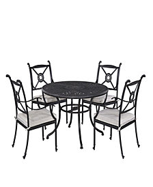 "Home Styles Athens 5PC Dining Set (48"" Table)"