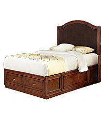 Naples Twin Bed and Night Stand