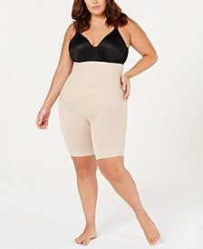Women's Plus Size Extra Firm Flexible-Fit High Waist Thigh Slimmer 2939