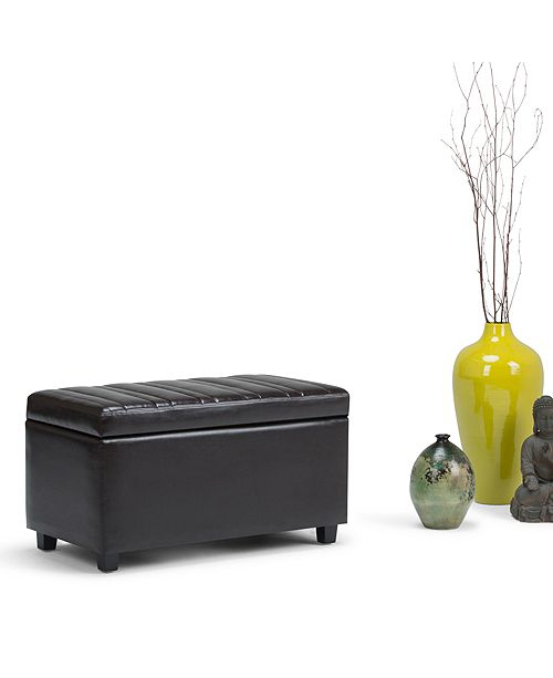 Furniture Darcy Ottoman, Quick Ship