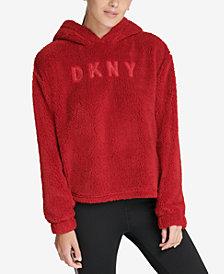 DKNY Sport Fleece Logo Hoodie