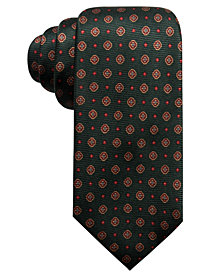 Tasso Elba Men's Medallion Silk Tie, Created for Macy's
