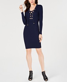 MICHAEL Michael Kors Grommet Sweater Dress