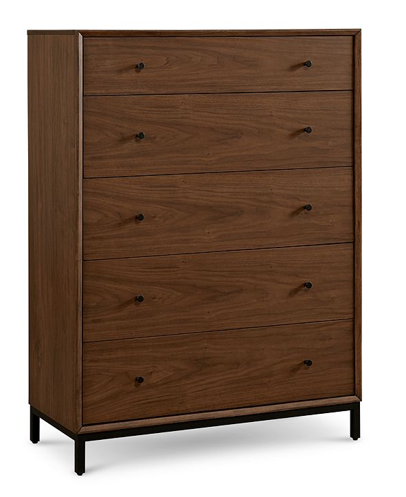 Furniture Oslo 5 Drawer Chest, Created for Macy's