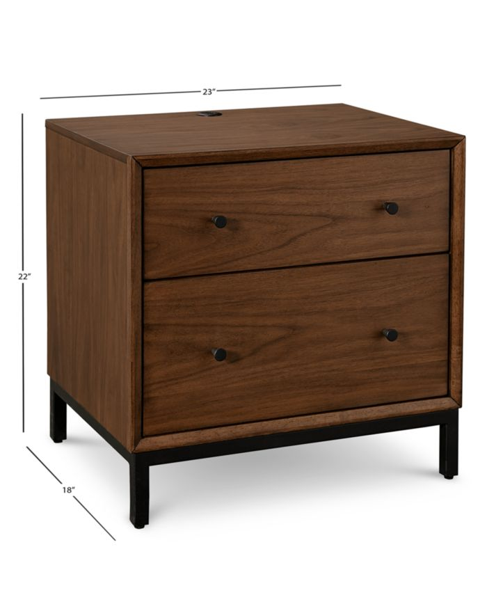Furniture Oslo Bedroom Furniture, 3-Pc. Set (Queen Bed, Nightstand & 5 Drawer Chest), Created for Macy's & Reviews - Furniture - Macy's