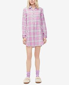 UGG® Gabri Printed Sleepshirt & Fleece Socks Set