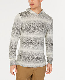American Rag Men's Ombré-Stripe Hooded Sweater, Created for Macy's