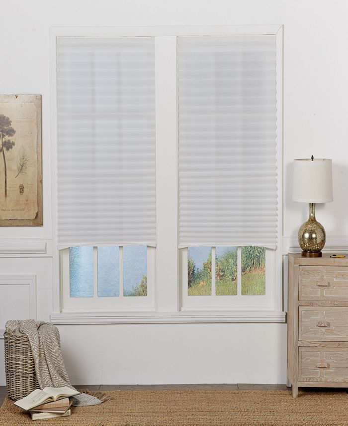 The Cordless Collection - 4Pk-Temporary Shade, White, 48x72
