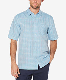 Cubavera Men's Plaid Shirt