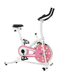 Sunny Health & Fitness Pink Indoor Cycling Bike