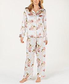 Charter Club Silk Pajama Set, Created for Macy's