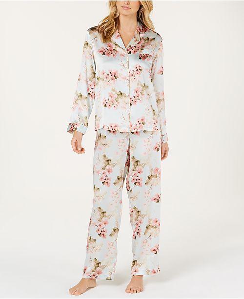 b85fe22836 ... Charter Club Silk Pajama Set