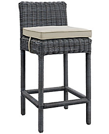 Summon Outdoor Patio Sunbrella® Bar Stool