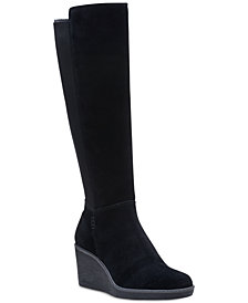 Clarks Collection Women's Hazen Madison Wedge Boots