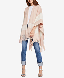 BCBGeneration Colorblocked Poncho