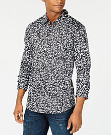 GUESS Men's Mini Floral Shirt