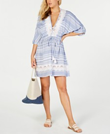 Dotti Tassel Talk Tunic Cover-Up