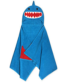 Jay Franco Kids' Shark Cotton Terry Hooded Towel