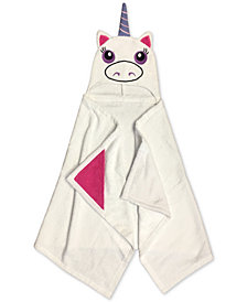 Jay Franco Kids' Unicorn Cotton Terry Hooded Towel