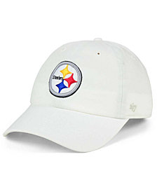 '47 Brand Pittsburgh Steelers CLEAN UP Strapback Cap