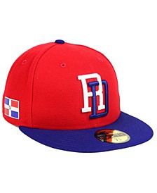 Dominican Republic World Baseball Classic 59FIFTY Fitted Cap