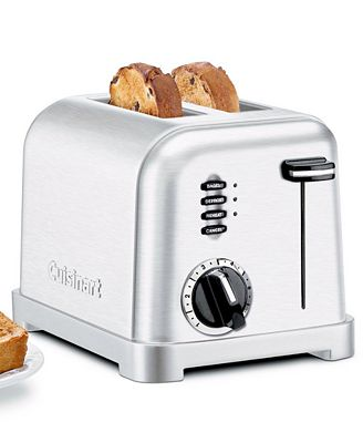Cuisinart CPT 160 Toaster 2 Slice Classic Brushed Chrome