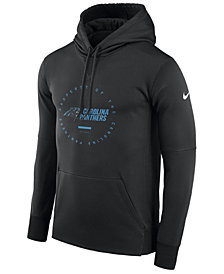 Nike Men's Carolina Panthers Property Of Therma Hoodie