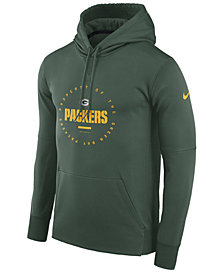Nike Men's Green Bay Packers Property Of Therma Hoodie