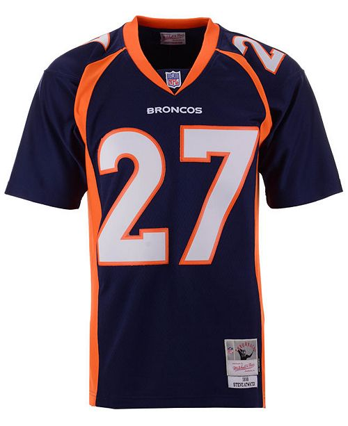 sports shoes 09113 44dec Men's Steve Atwater Denver Broncos Replica Throwback Jersey